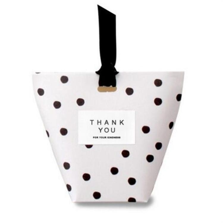 Black Polka Dot Gift Bag