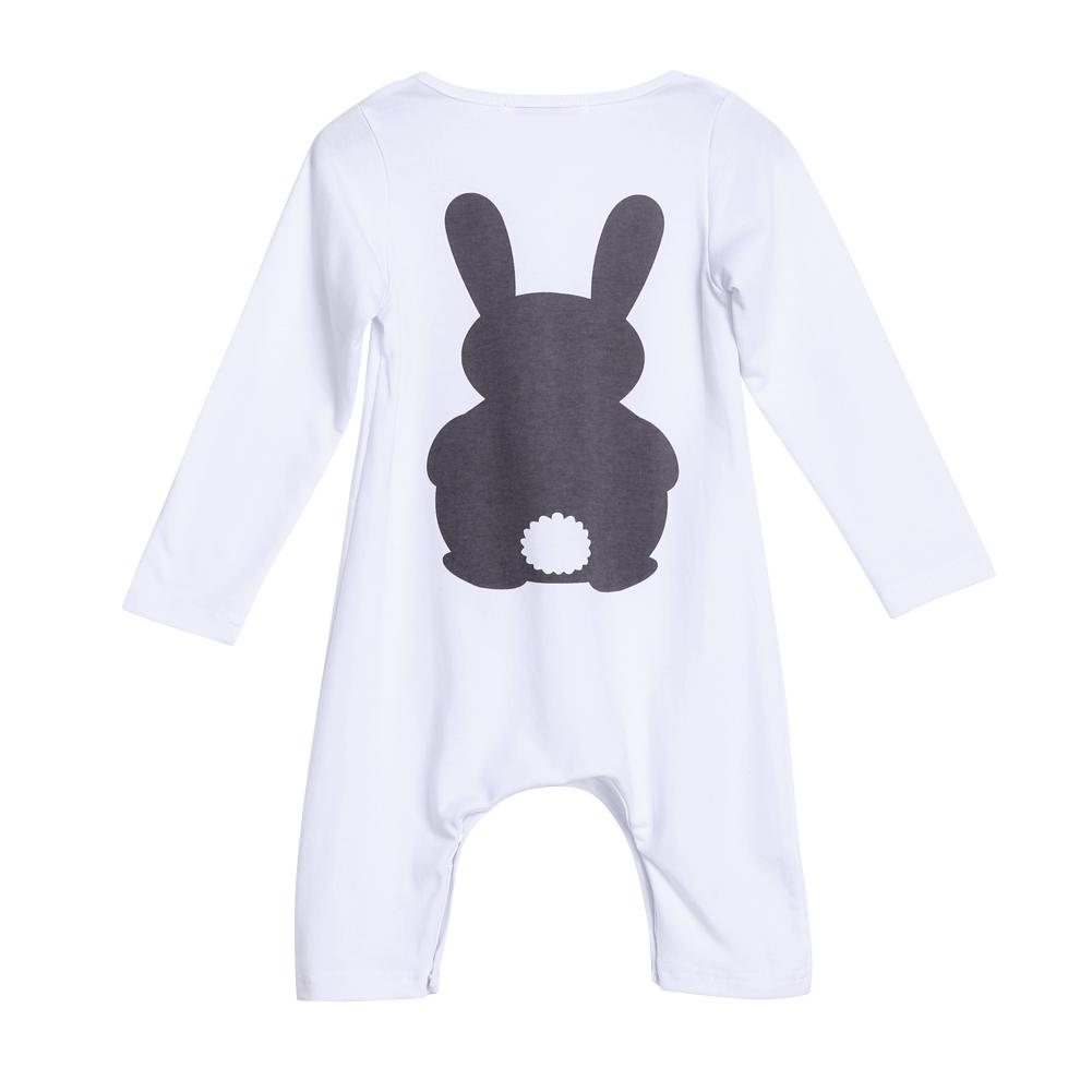 Bunny Romper with Long Sleeve