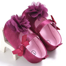 Purple Flower Shoes