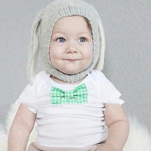 Floppy Rabbit Ears Knitted Kids Hats