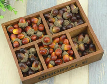 Faux Mini Acorns