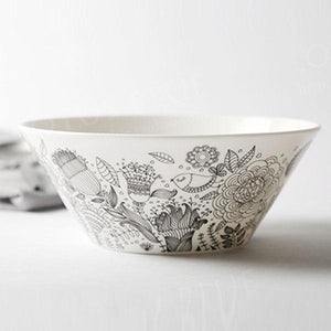 Doodle Bone China Bowl