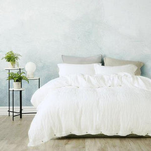 French Flax Linen Duvet Cover Set