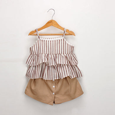 Striped Camisole and Shorts