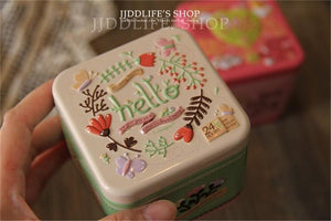 Tea Tin Boxes for Storage