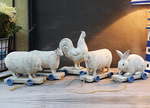 Vintage Style Farmyard Animals