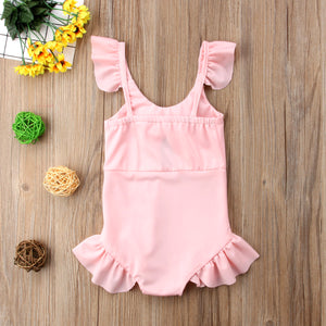 Girls 'Sweet Bow' One Piece