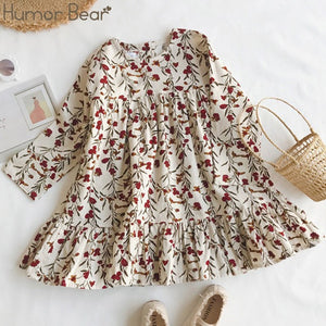 Dainty Flowered Dress