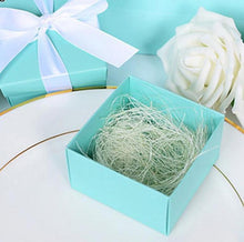 Tiffany Blue Paper Candy Box