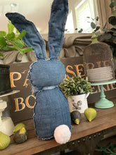 Raggedy Denim Cabbit 'Lem'