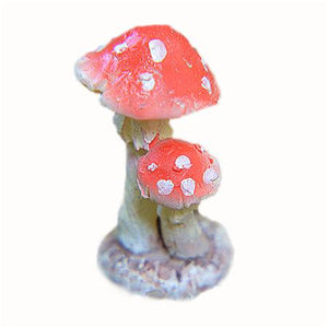 Lifelike Artificial Mini Mushroom