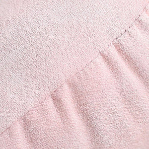 Pink Embroidered Cotton Pillow