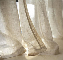Linen Flax Curtains