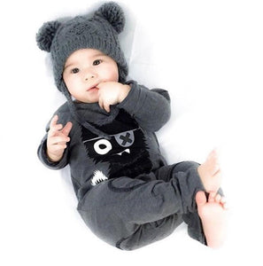 Fashion Cat Baby Romper