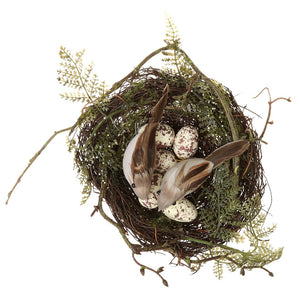 Birds Nest Faux Moss