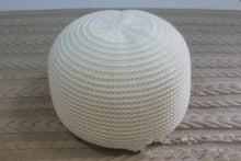 Crocheted Woolen Round Cushion POUF
