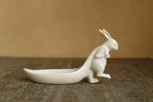 Ceramic Rabbit Serving Bowls