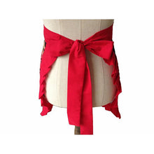 Red Rose Retro Kitchen Apron