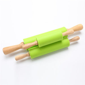Lime Green Silicone Rolling Pins