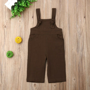Comfy Cotton Overalls