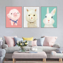 Cute Animal Canvas Art Prints