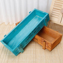 Vintage Wooden Flower Planter Box
