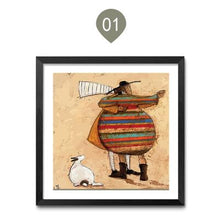 Whimsical People Posters. No Frame
