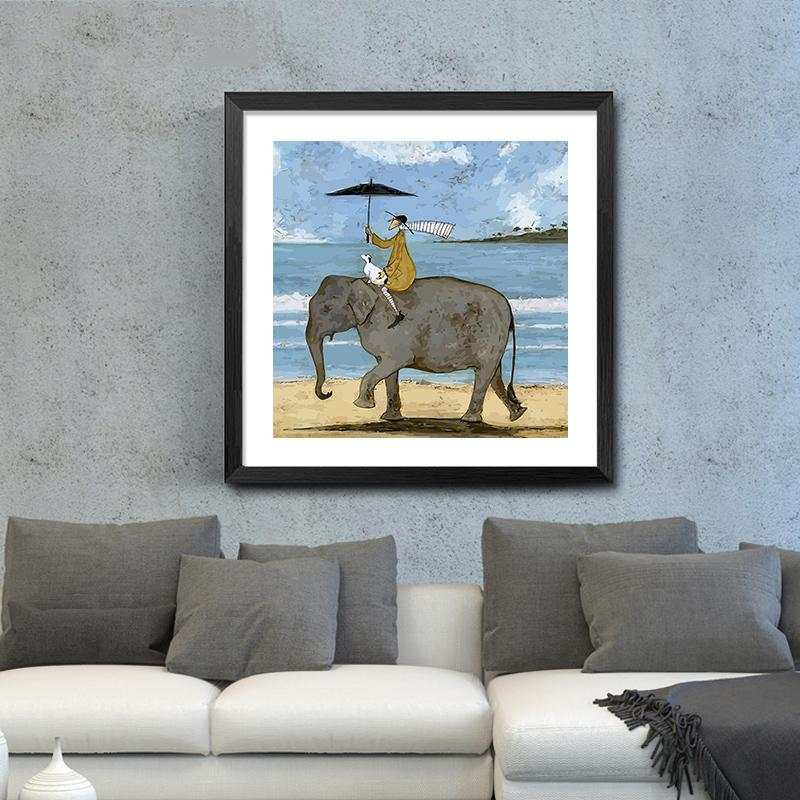 Whimsical People Posters. No Frame – Fig Avenue