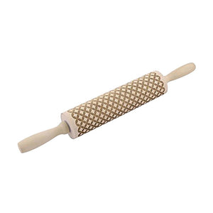 Wooden Rolling Pin for Embossing