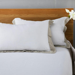 Flax Edge 100% French Linen Duvet Cover 3 PCS