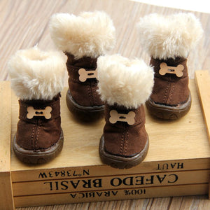 Furry Pet Shoes