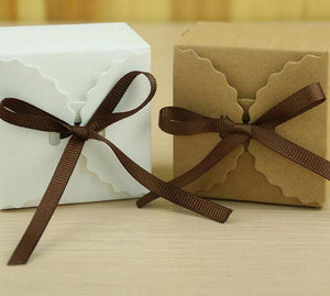 Kraft Paper Favor Boxes