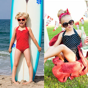 Toddler Girls Stylish One Piece Swimsuit