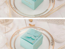 Tiffany Blue Butterfly Favor Box