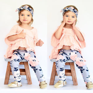 Toddler Girls Flower Power Set