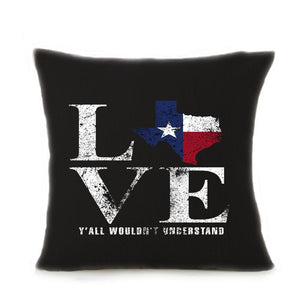 Love Pillow Case Cushion Cover