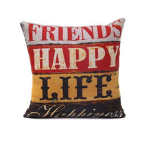 Signage Style Pillow/Cushion Cover