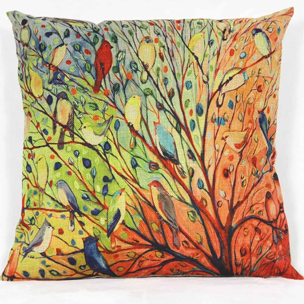Tree Pillow/Cushion Cover