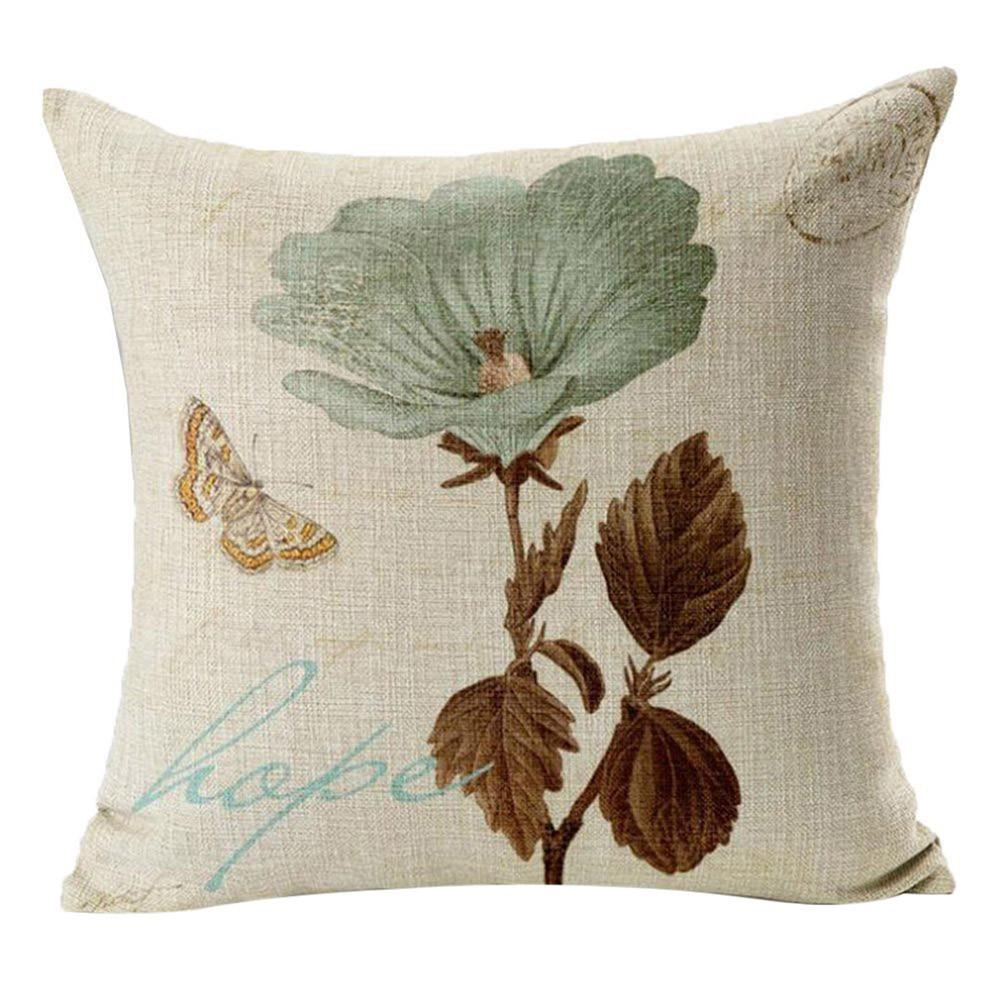 Vintage Retro Pillow/Cushion Cover