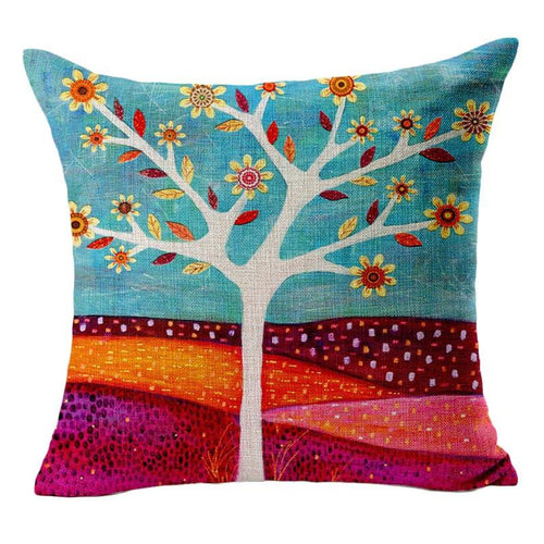Enchanted Forest Tree Cushion/Pillow cover