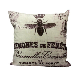 Paris Apartment Style Cushion/Pillow Cover