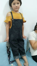Loose Fit Denim Overalls