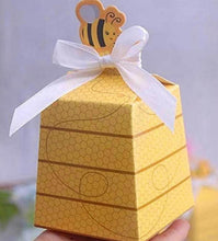 Yellow Bumble Bee Favor Boxes