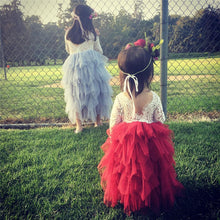 Girls Lacy Tutu Dress