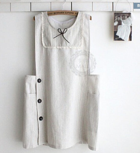Side Fasten Kitchen Apron