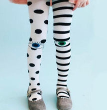 Lovely Dotty Striped Tights