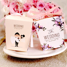 Cute Bride and Groom Wedding Candy Box