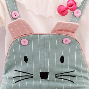 Kitty Cat Overalls