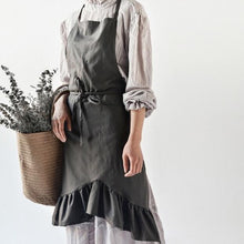 Cotton Linen Bib Apron