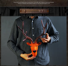 Stylish Deer Head Wall Hanging